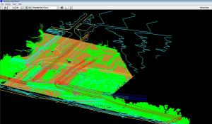 Planimetric Data Incorporated into Point Cloud