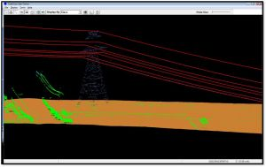 Transmission Lines Modeled in 3D