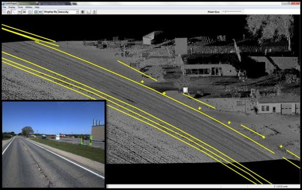 Roadway Characteristics Inventory for DOTs Using Mobile LiDAR Technology
