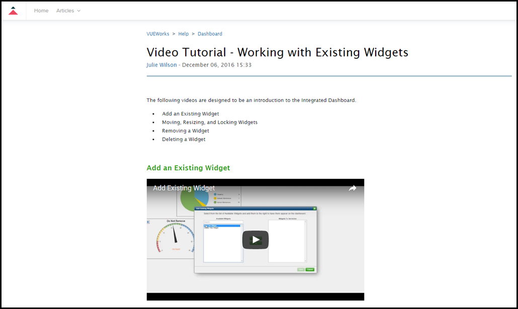 2017-02-01 10_11_01-Video Tutorial - Working with Existing Widgets – VUEWorks